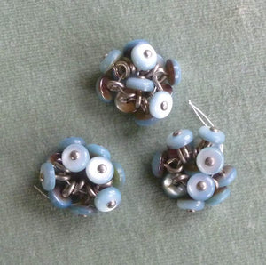 Antique Mother of Pearl Shoe Buttons