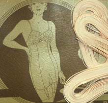 Load image into Gallery viewer, Circa 1930's Pink Corset Lace