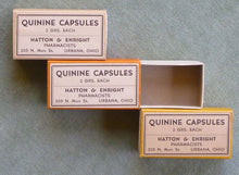 Load image into Gallery viewer, Vintage Quinine Box