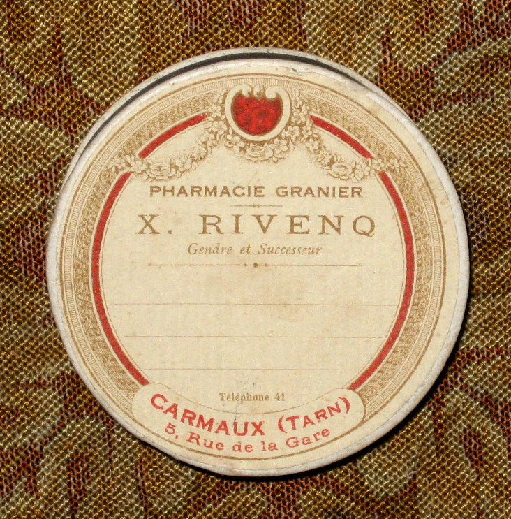 Antique French Pharmacie