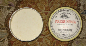 Antique 19th Century Paris Flea Market Powder Box