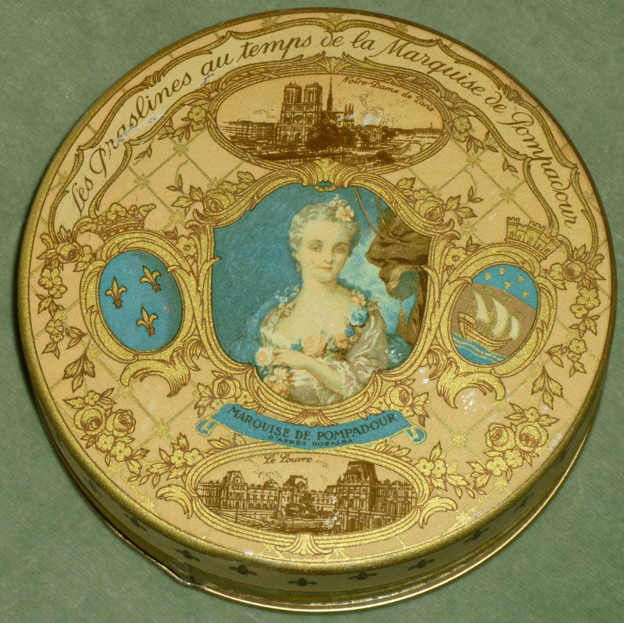 Chocolaterie P. Haeffelé & Cie Antique French Praline Tin