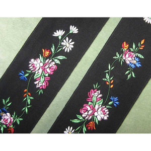 French floral ribbon