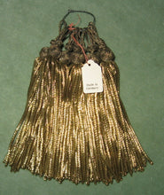 Load image into Gallery viewer, Antique Gold Bullion Tassels