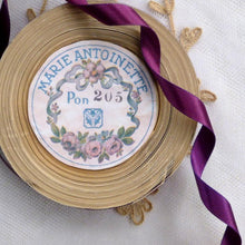 Load image into Gallery viewer, Vintage Ribbon by the Roll - Royal Purple Double Faced Satin Ribbon