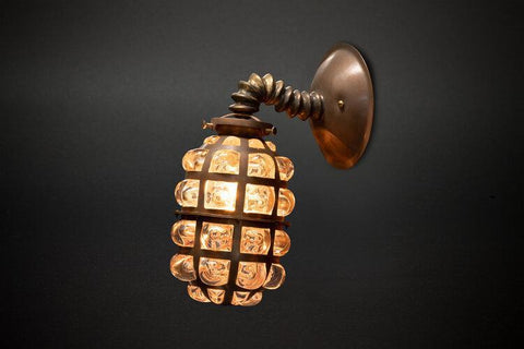 Evan Chambers Pill Sconce Wall Lamp-Lighting-Evan Chambers-PaxtonGate