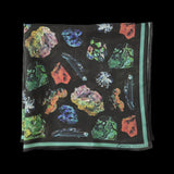 Gems and Minerals Silk Chiffon Scarf-Accessory-Curious Prints-PaxtonGate