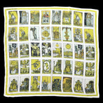 Tarot Cards Silk Chiffon Scarf-Accessory-Curious Prints-PaxtonGate