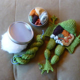 Knitted Frog DIY Kit-Craft-Crafty Hedgehog-PaxtonGate