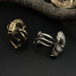 Brass Death Grip Ring-ings-Miyu Decay-PaxtonGate