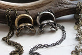Brass Immortalis Necklace-Necklaces-Miyu Decay-PaxtonGate