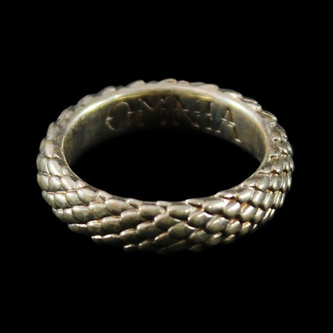 Draco Mini Ring Polished Brass-Rings-OMNIA Studios-PaxtonGate