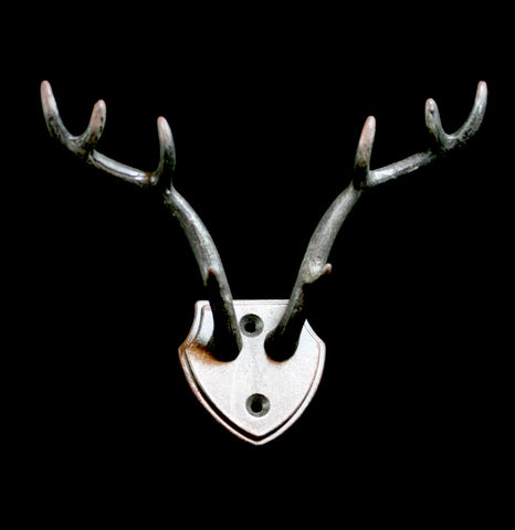 Antler Mount Wall Hook-AntqRplica-World Buyers-PaxtonGate