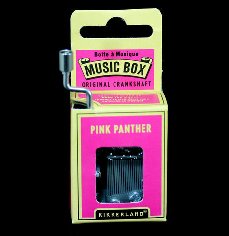 Pink Panther Music Box-Outdoors-Kikkerland-PaxtonGate