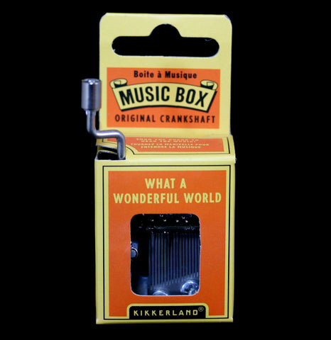 What a Wonderful World Music Box-Outdoors-Kikkerland-PaxtonGate