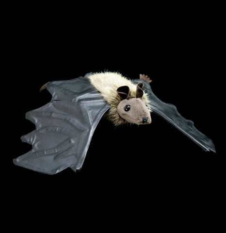 Mini Brown Bat Puppet-Toys-Folkmanis, Inc-PaxtonGate