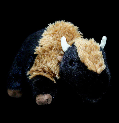 Small Bison Puppet-Toys-Folkmanis, Inc-PaxtonGate