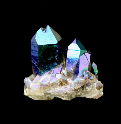 Cobalt Blue Quartz Crystal-Minerals-Jewel Tunnel Imports-PaxtonGate