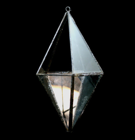 Diamond Hanging Terrarium-TerrarVase-LeadHead Glass-PaxtonGate