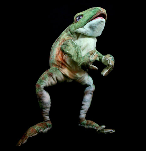 Jumping Frog Puppet-Toys-Folkmanis, Inc-PaxtonGate