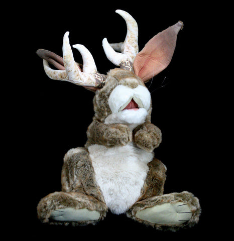 Jackalope Puppet-Toys-Folkmanis, Inc-PaxtonGate