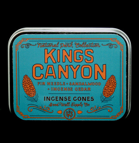 Kings Canyon Incense Tin-Candles-Good & Well Supply Co.-PaxtonGate
