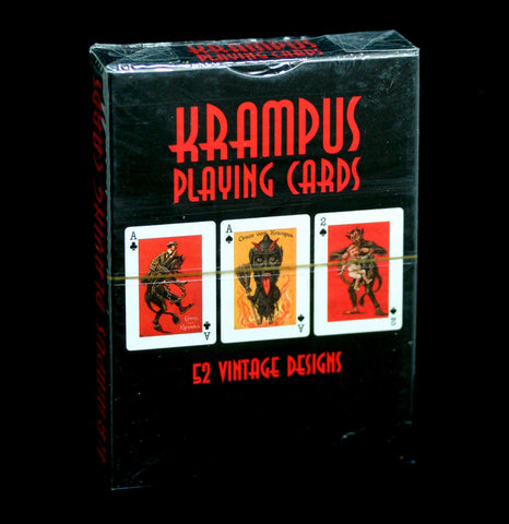 Krampus Playing Cards-Cards-Microcosm Publishing-PaxtonGate