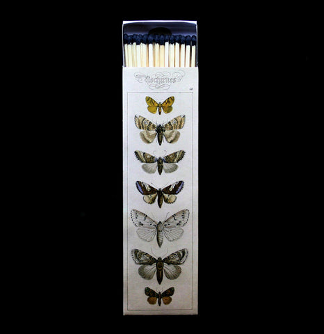 Moths Long Matches-Candles-Hom Art-PaxtonGate
