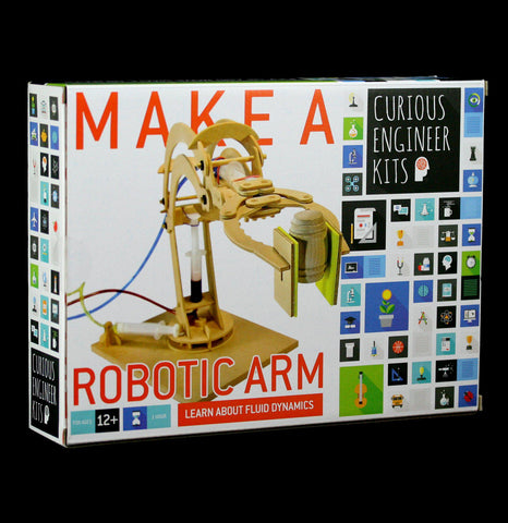 Curious Engineer: Robotic Arm - PaxtonGate