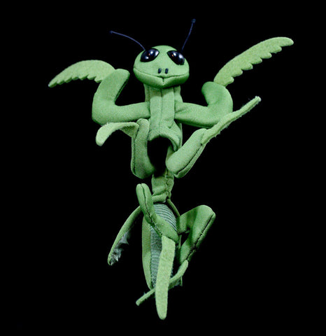 Mini Praying Mantis Finger Puppet-Toys-Folkmanis, Inc-PaxtonGate