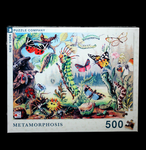 Metamorphosis Puzzle-Puzzles-NY Puzzle Co.-PaxtonGate