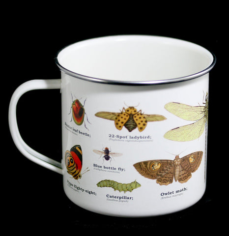 Enamel Insects Mug-Pots&Cups-Gift Republic-PaxtonGate