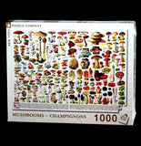 1000 Piece Mushrooms & Champignons Puzzle-Toys-NY Puzzle Co.-PaxtonGate