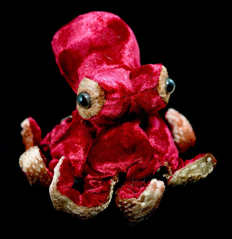 Mini Octopus Finger Puppet-Toys-Folkmanis, Inc-PaxtonGate