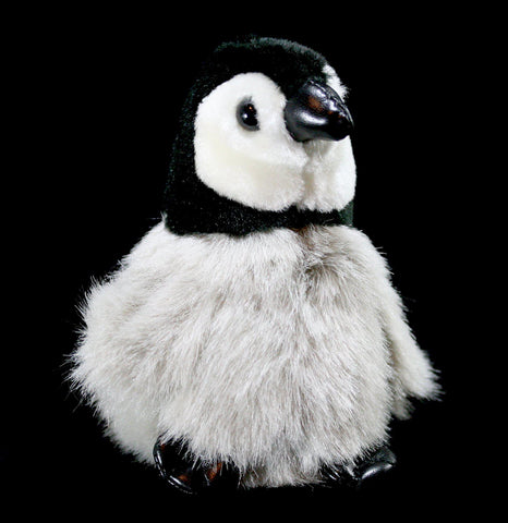 Mini Baby Emperor Penguin Finger Puppet-Toys-Folkmanis, Inc-PaxtonGate