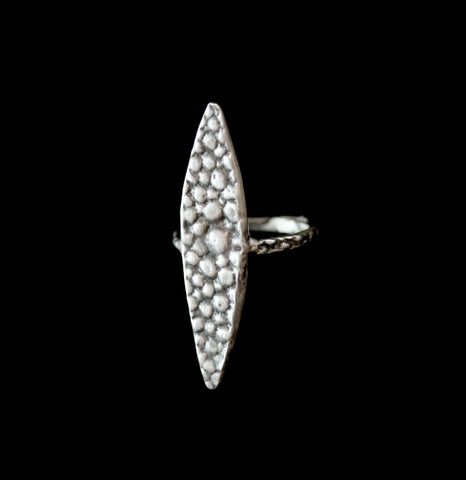 Silver Stingray Spike Ring-ings-Lauren Wolf-PaxtonGate