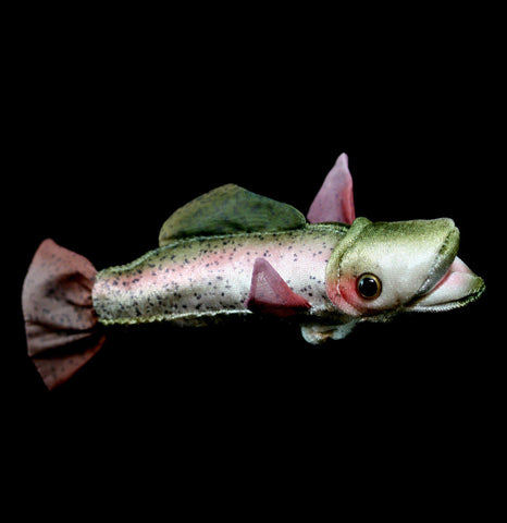 Mini Trout Finger Puppet-Toys-Folkmanis, Inc-PaxtonGate