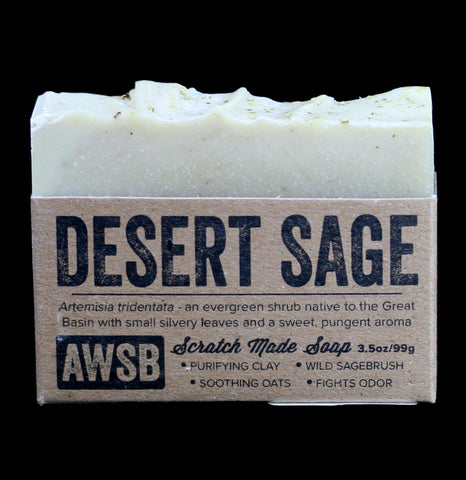 Desert Sage Bar Soap-Soaps-A Wild Soap Bar-PaxtonGate