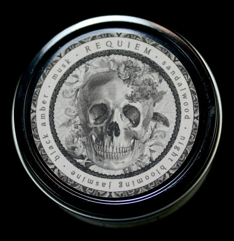 Noir Travel Candle Requiem-Candles-L''apothicaire Co.-PaxtonGate