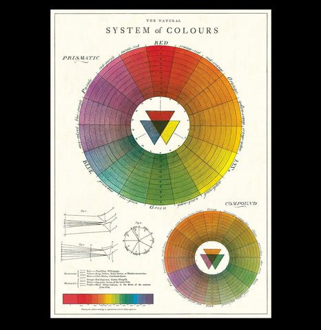 Color Wheel Poster Wrap - PaxtonGate