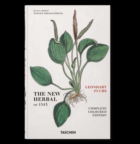 Leonhart Fuchs: The New Herbal of 1543-Books-Taschen-PaxtonGate