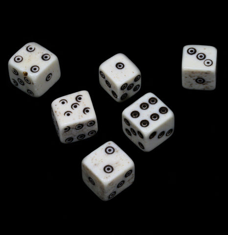 Six Sided Bone Die - PaxtonGate