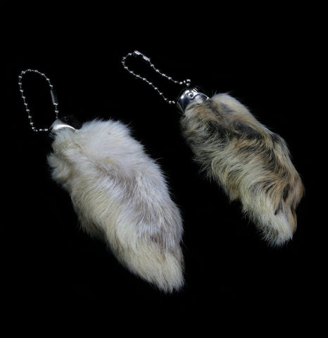 Rabbit Foot Keychain-Oddities-Driftstone Pueblo-PaxtonGate