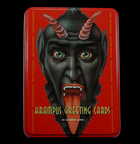 Krampus Greeting Card Set-Cards-Microcosm Publishing-PaxtonGate