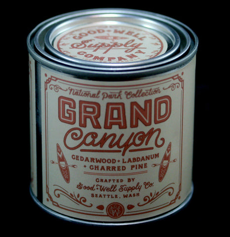 National Park Collection: Grand Canyon Candle-Candles-Good & Well Supply Co.-PaxtonGate