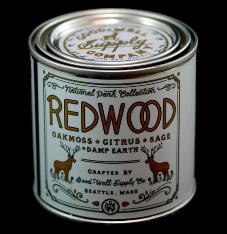 National Park Collection: Redwood Candle-Candles-Good & Well Supply Co.-PaxtonGate