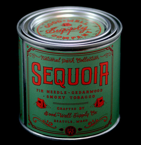 National Park Collection: Sequoia Candle-Candles-Good & Well Supply Co.-PaxtonGate
