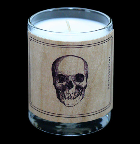 Skull Votive Candle - PaxtonGate
