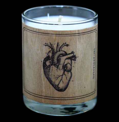 Heart Votive Candle - PaxtonGate