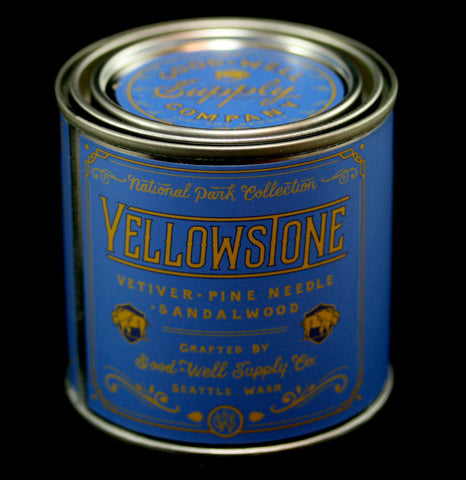 National Park Collection: Yellowstone Candle-Candles-Good & Well Supply Co.-PaxtonGate